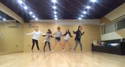"Wonder Girls ""Like This"" Practice Video"