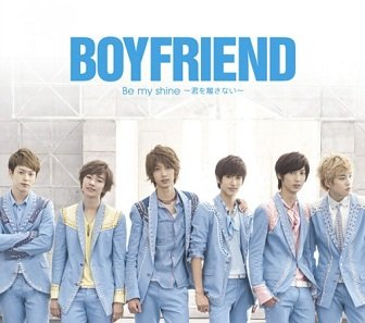 Boyfriend - Be My Shine Album Cover