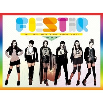 FIESTAR - VISTA Cover