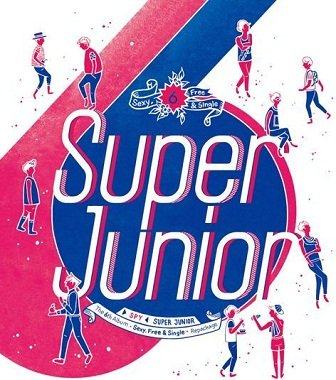 Super Junior - Spy Album Cover