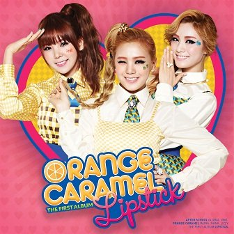 Orange Caramel Lipstick 1st Album