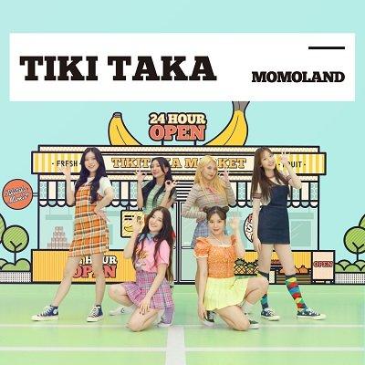 MOMOLAND TIKI TAKA Cover