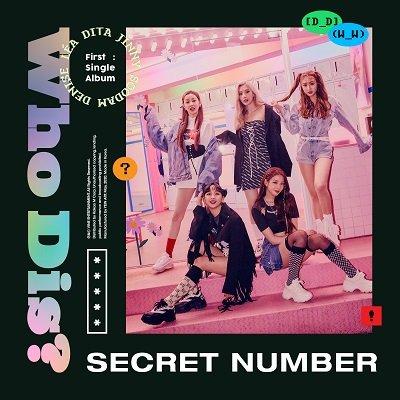 SECRET NUMBER Debut Single Cover