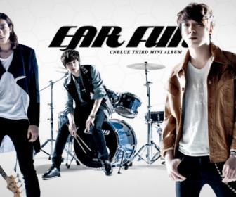 CNBLUE Ear Fun 3rd mini-Album Cover