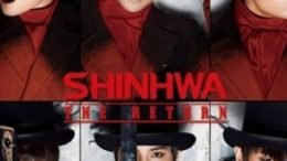 Shinhwa The Return Album Cover
