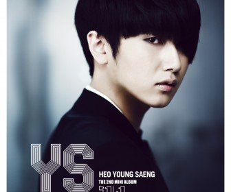 Heo Young Saeng SOLO 2nd mini Album Cover