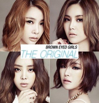 BEG Brown Eyed Girls The Original mini-Album Cover