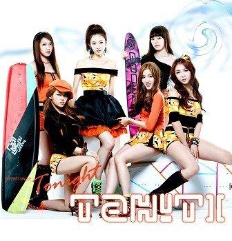 TAHITI First Single Cover