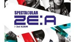 ZE:A Spectacular 2nd Album Cover