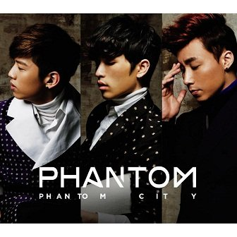Phantom Phantom City EP Cover
