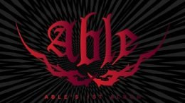 Able 1st mini-Album Cover