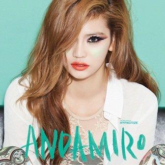 Andamiro 1st mini-Album Cover