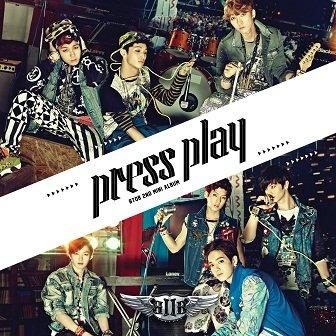 BTOB Press Play EP Cover