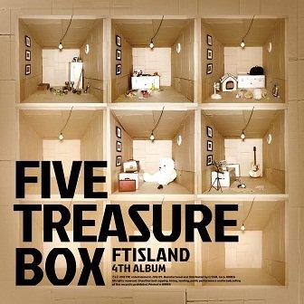 FT Island Five Treasure Box 4th Album Cover