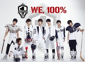 100% 1st Single Cover