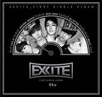 Excite 1st Single Album Cover