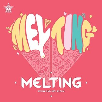 Hyuna Melting mini-Album Cover
