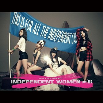 miss A Independent Women Pt III Cover