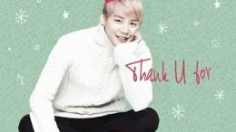 Xia Junsu Thank you Single Cover