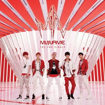 MYNAME 2nd Single Cover