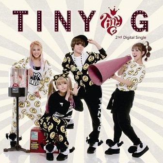 Tiny-G 2nd Digital Single Cover
