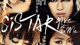SISTAR 2nd Album Cover