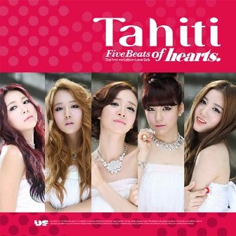 TAHITI 1st mini-Album Cover