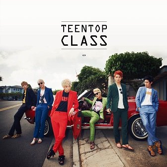 Teen Top EP Cover