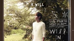 K.Will 4th mini-Album Cover