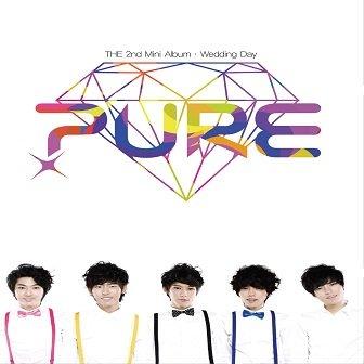 PURE 2nd mini-Album Cover
