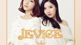 Jevice 1st mini-Album Cover