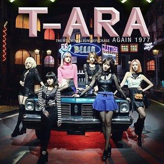 T-Ara 8th mini-Album Repackaged Cover