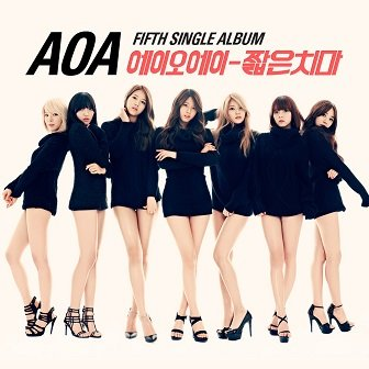 AOA 1st Single Album Cover