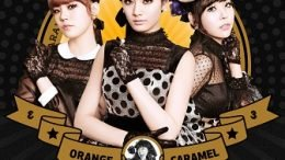 Orange Caramel 3rd Single Album Cover