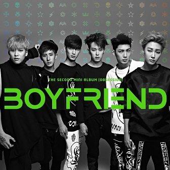 Boyfriend 2nd mini-Album Cover