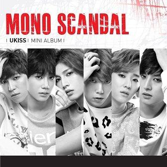 U-KISS Mono Scandal mini-Album Cover