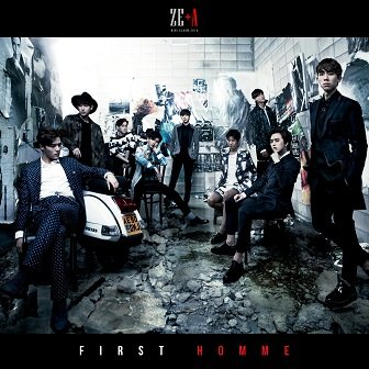 ZE:A 2nd mini-Album Cover