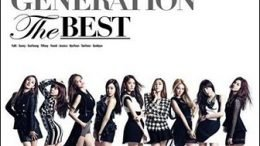SNSD The Best Japanese Album Cover