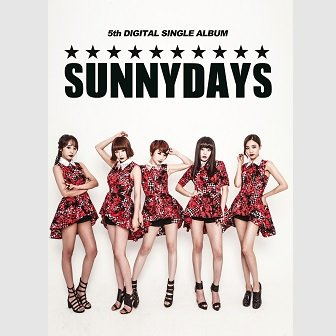 Sunny Days 5th Single Cover