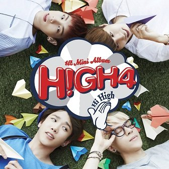 HIGH4 1st mini-Album Cover
