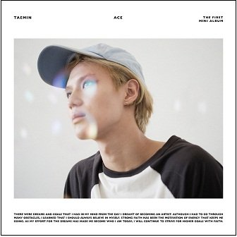 Taemin 1st mini-Album Cover