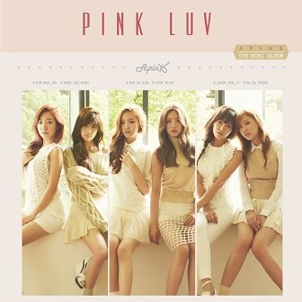 A Pink 5th mini-Album Cover