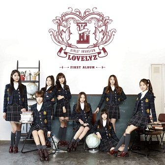 Lovelyz 1st Album Cover
