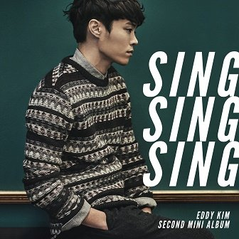 Eddy Kim 2nd mini-Album Cover