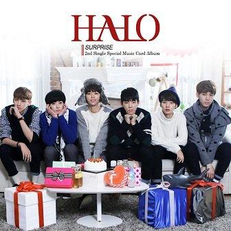 HALO 2nd Single Album Cover