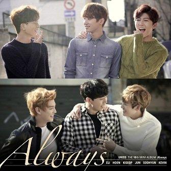 U-KISS 10th mini-Album Cover
