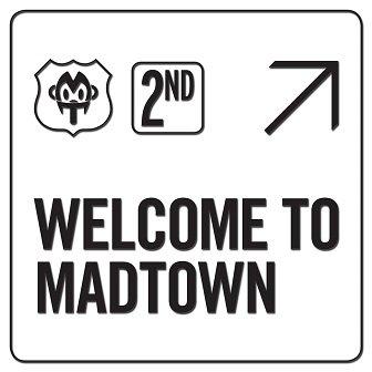 MADTOWN 2nd mini-Album Cover