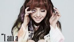 Minah 1st Solo Album Cover