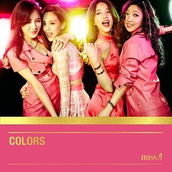 miss A Colors mini-Album Cover