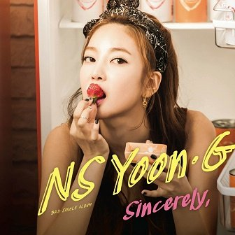 NS Yoon-G 3rd Single Album Cover